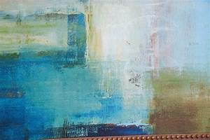 Modern, Mid, Century, Abstract, Oil, Painting, Original, Signed