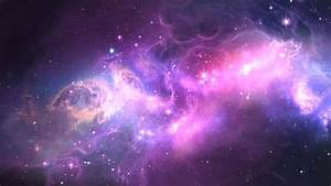 Space Galaxy And Stars Background Stock Footage Video ...