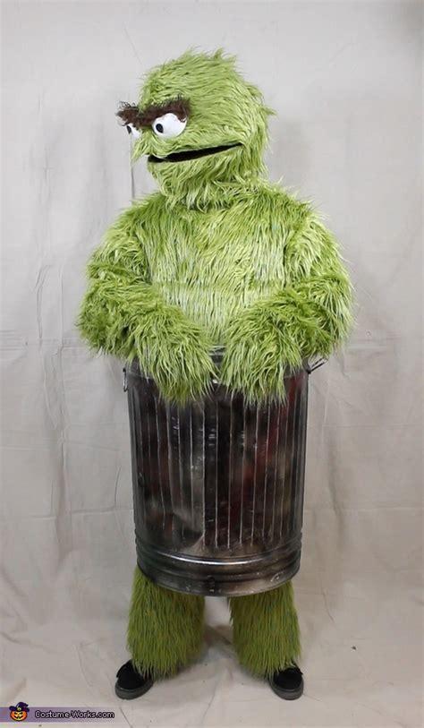 oscar  grouch adult costume