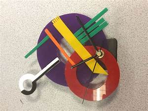 A, Brilliant, Example, Of, A, Bauhaus, Style, Clock, Designed, And, Made, By, Harley, Brown, Year, 8