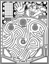 Maze Pinball Clown Dover Coloring Pages Publications Trip Road Doverpublications Mazes Welcome Printables Fun Musings Inkspired Activities Mail sketch template