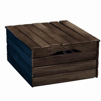 Rust Box Wood Wooden Storage