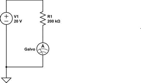 Current Measurement Conversion Galvanometer