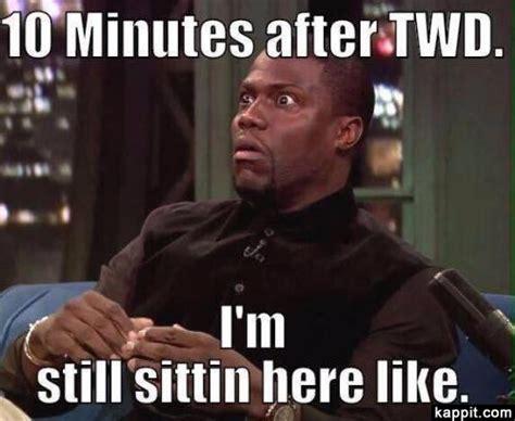 Walking Dead Glenn Meme - 10 minutes after twd i m still sittin here like