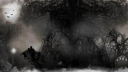 Spooky Halloween Backgrounds Wallpapers Scary Night Dark