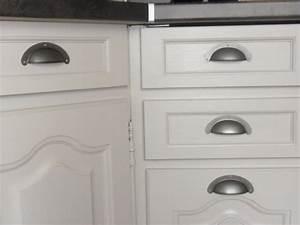 Poignée Meuble Cuisine Design : ma nouvelle cuisine 6 photos flegon ~ Teatrodelosmanantiales.com Idées de Décoration