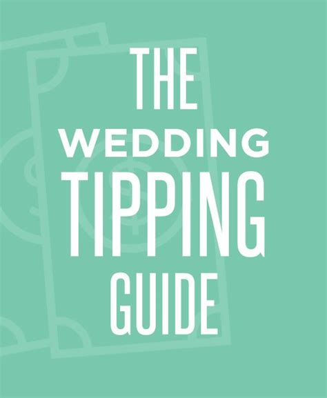 #Genius The perfect tipping guide for all of your #