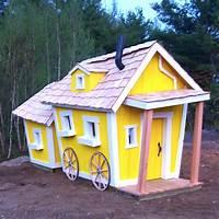 playhouses for kids Kids Playhouse - Custom | Kids Crooked House