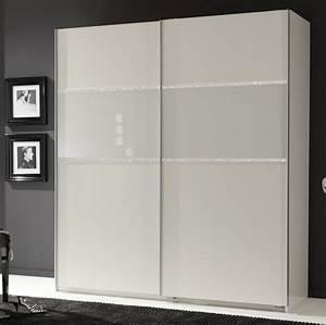 Armoire Chambre Porte Coulissante : armoire 2 portes coulissantes blitz blanc l 135 x h 198 x p 64 ~ Teatrodelosmanantiales.com Idées de Décoration