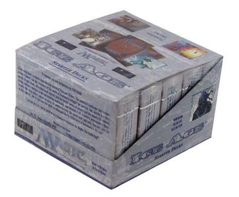 Mtg Sealed Deck Registration Sheet by Age Starter Box Of 10 Decks Mtg Magic The