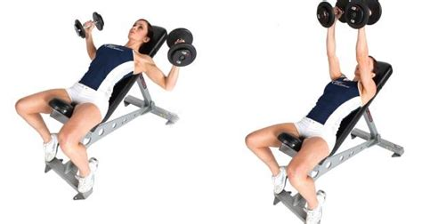 Pec Deck Flyes With Dumbbells by Your Exercises Incline Dumbbell Flyes