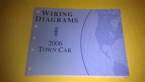 Genuine Lincoln Town Car 2006 Wiring Diagrams Fcs-12119-06    Fcs1211906