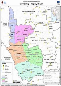 Myanmar  District Map