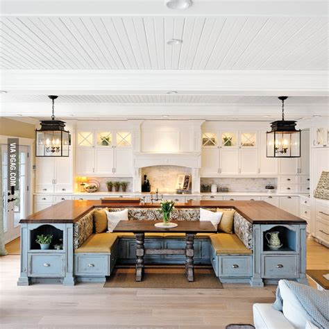 kitchen island with booth seating kitchen island with built in seating 9gag 8238