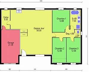 Plan Maison Pas Cher : construire sa maison discount avec un constructeur bas prix ~ Melissatoandfro.com Idées de Décoration