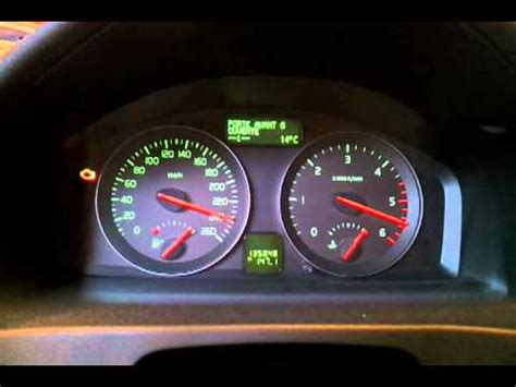volvo  instrument cluster test youtube