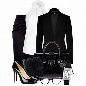 U0026quot;Business Class ~Chic Black~u0026quot; by gangdise on Polyvore   Style Inspiration found on Polyvore Part ...