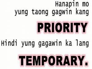 Tagalog Quotes ... Tagalog English Quotes