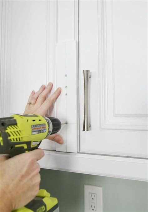 Kitchen Cabinet Knobs How To Install by Diy Cabinet Hardware Template Hardware Installation Made