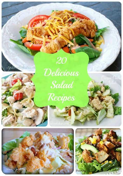 20 Yummy Main Dish Salad Recipes