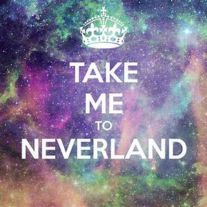 Take me to Neverland Iphone Wallpaper