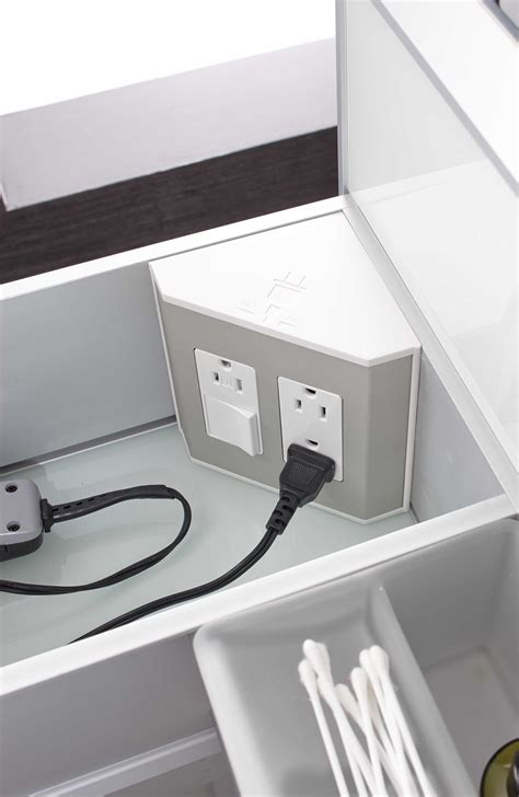 bathroom cabinet outlet stores in the drawer electrical outlets for bathroom drawers