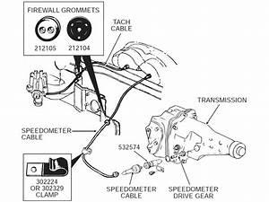 63-82 Under Hood Clip    Wire Harness Retainer - 1-1  2 U0026quot  Long