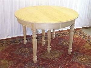 Table Ronde Avec Rallonge : table ronde louis xvi table ronde louis xvi sur enperdresonlapin ~ Teatrodelosmanantiales.com Idées de Décoration