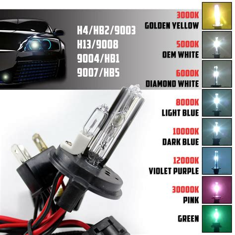 Xenon Light Bulb by 2 35w 55w Replacement Hid Lights Bulbs Dual Beam For Xenon