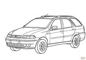 Fiat Panda Kleurplaat by Fiat Palio Coloring Page Free Printable Coloring Pages