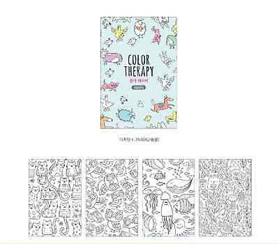 preview fashion girl postcards coloring book adult gift