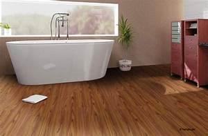 Vinyl Badezimmer Wand : holzboden im bad mit parkett im badezimmer gestalten sie ~ Michelbontemps.com Haus und Dekorationen