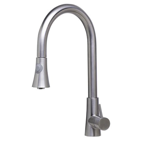brands of kitchen faucets bath4all alfi brand ab2034 bss solid brushed stainless