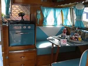 Shasta Travel Trailer Interior 1956 Vintage trailers
