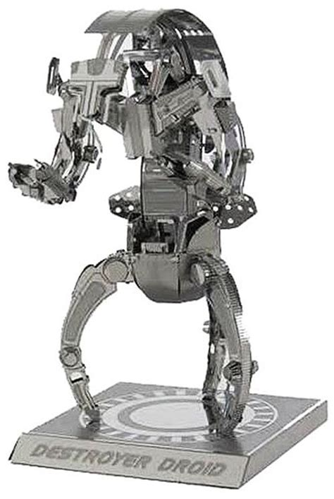metal earth star wars destroyer droid  laser cut model