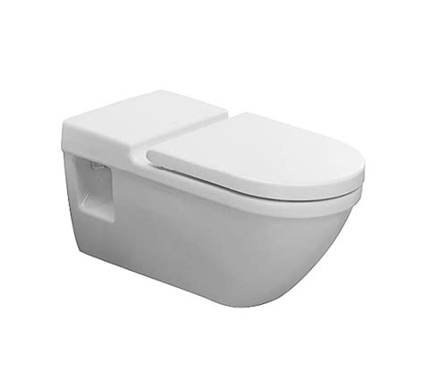 duravit starck 3 wall mounted toilet with seat and cover 2203090000