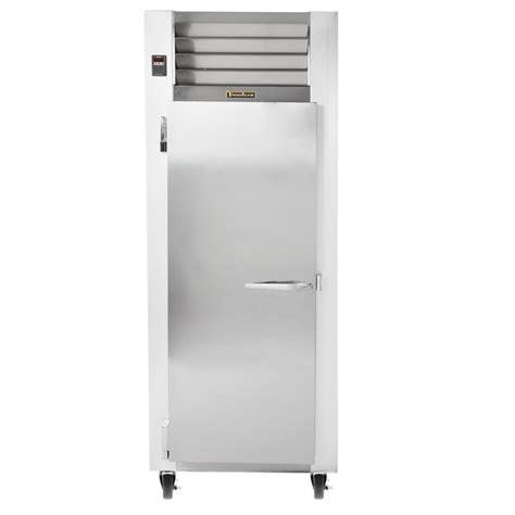 traulsen g10011 30 quot reach in refrigerator with left hinged solid door