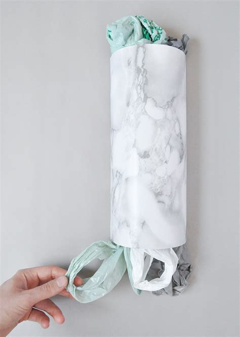 diy plastic bag holder designsponge