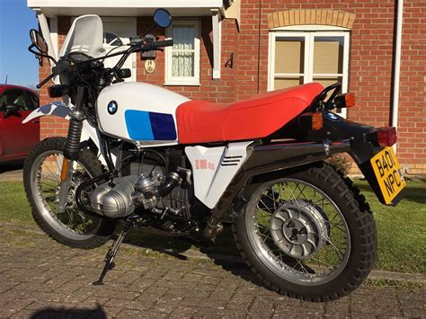 R80gs For Sale by Restored Bmw R80gs 1985 Photographs At Classic Bikes