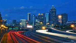 Atlanta Skyline Wallpaper Hd  63  Images