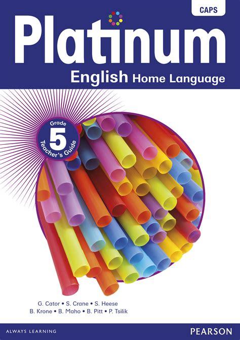 platinum english home language grade  teachers guide