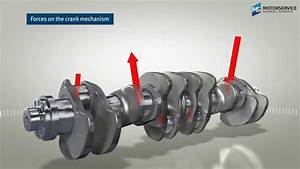 Structure And Function Of The Crankshaft  3d Animation