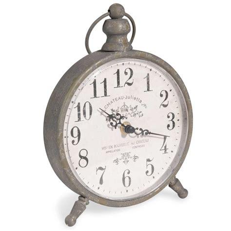 horloge 224 poser en m 233 tal h 24 cm julietta maisons du monde