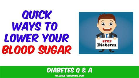 quickly   blood sugar youtube