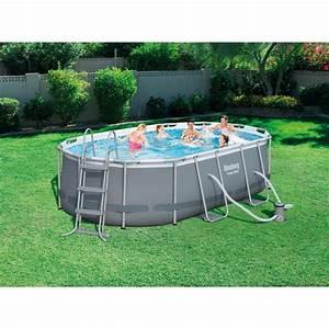 Piscine Tubulaire Hors Sol : piscine hors sol autoportante tubulaire bestway l x l x h 1 m leroy merlin ~ Melissatoandfro.com Idées de Décoration