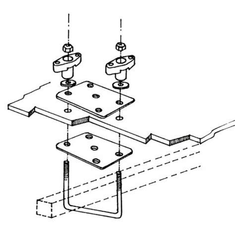 etrier coffre de toit etrier kit fixation pour coffre de toit cing car thule top box
