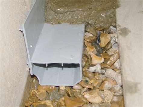 clogged basement floor drain interior basement drain installation in basement