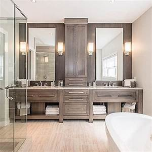 793 best bathroom designs images on pinterest bathroom With master bath vanity design ideas