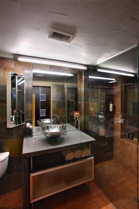salle de bain design dans un petit loft aux usa journal du loft