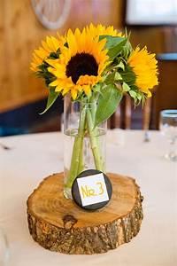Tischdeko Geburtstag Rustikal : tischdeko mit sonnenblumen sonnenblumendeko ~ Watch28wear.com Haus und Dekorationen